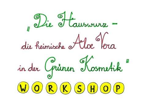 Workshop - Die Hauswurz - Project